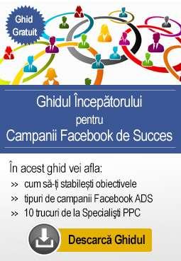 Ghidul incepatorului pentru Campanii Facebook de Succes