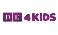 de 4 kids logo