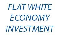 colaborare flat white economy investment logo