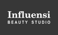 colaborare influensi beatuy studio logo