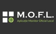 mofl aplicatie monitor oficial local logo